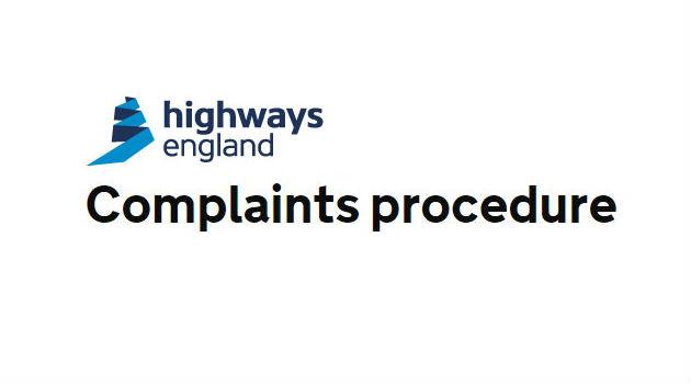 Highways England Complaints Procedure