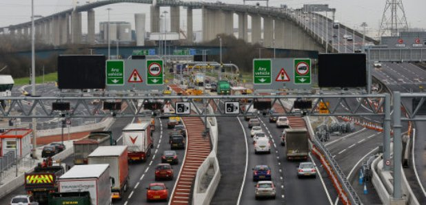 Dartford Crossing traffic