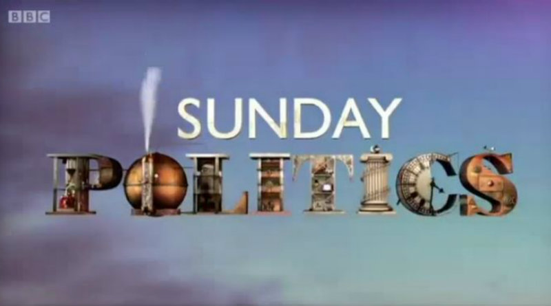 BBC Sunday Politics