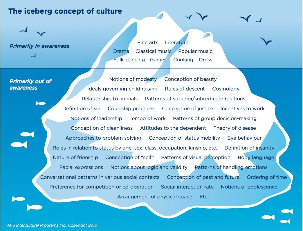 Crashing Into The Cultural Iceberg Ltc Language Solutions