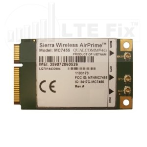 Sierra Wireless MC7455 CAT6 4G LTE-A Modem LTEFix.com