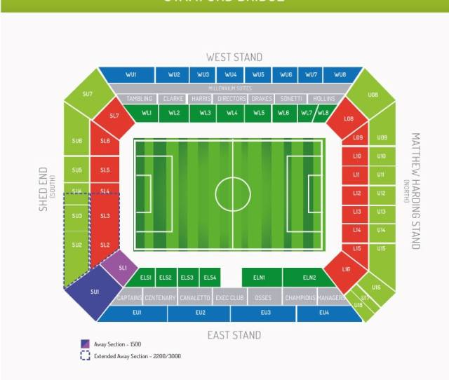 Fa Cup Chelsea Vs Sheffield Wednesday Tickets Stamford Bridge