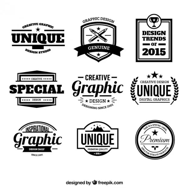 Set Of 300+ Free Logo Templates