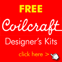 Image asking user to click to request a free Coilcraft Designer's Kit