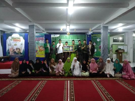 Penutupan Tarawih keliling yang dilaksanakan Pengurus Cabang Nahdlatul Ulama (PCNU) Kota Bandung
