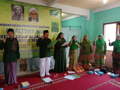 Alhamdulillah Pengurus Muslimat NU Ranting Kedaung-Sawangan Depok, Terbentuk
