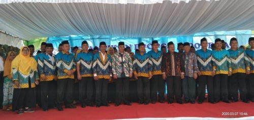 Ribuan Guru Madrasah Hadiri Pelantikan DPC PGM Indonesia se-Kabupaten Indramayu