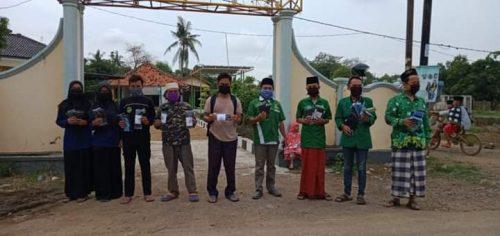 Sambut Ramadhan : GP. Ansor dan IPNU - IPPNU Kecamatan Arahan Bagikan Sembakodan Masker