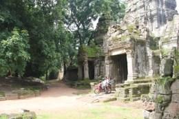 Riding Through Angkor