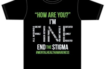 Mental Health Awareness T-Shirt Fundraiser