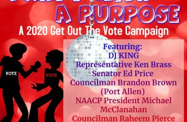 Party With A Purpose – A 2020 Get Out The Vote Campaign