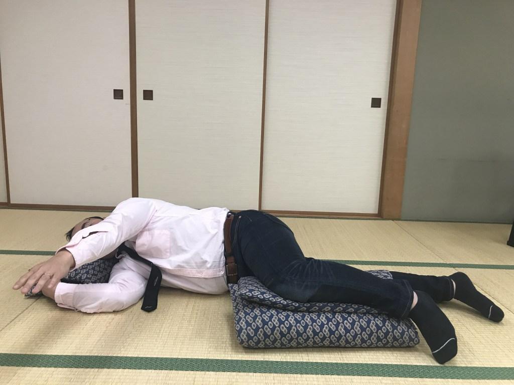 寝返りリハビリ運動療法
