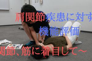 肩関節疾患に対する機能評価 ~関節、筋に着目して~