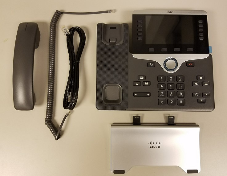 Cisco Phone Setup for Models 8841 and 8851  Library  Technology Services