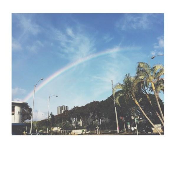 #hawaiirainbow
