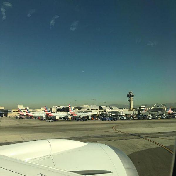 #アメリカン航空 #ロサンゼルス到着