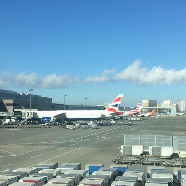 #成田空港 到着