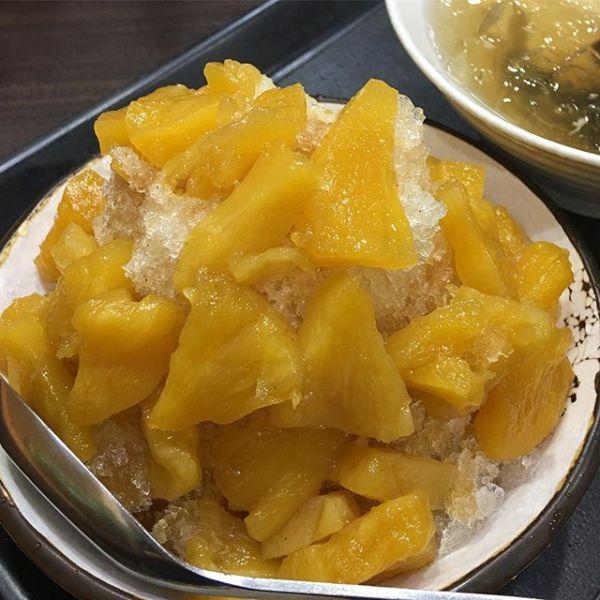 #パイナップルかき氷