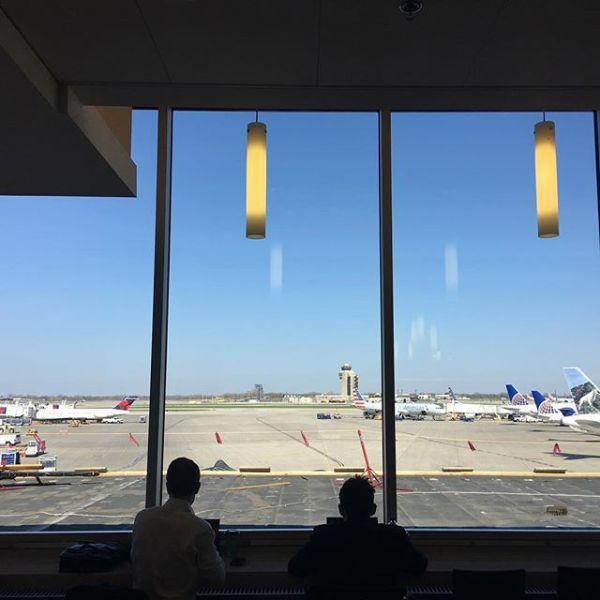 #ミネアポリス空港