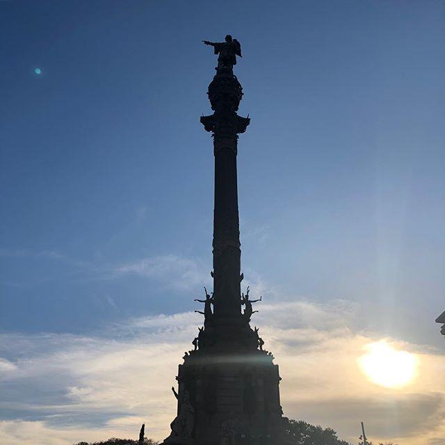 バルセロナ・コロンブス像
