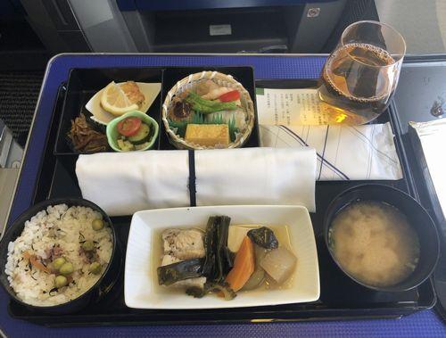 ANAプレミアムクラスお食事/2019年7月