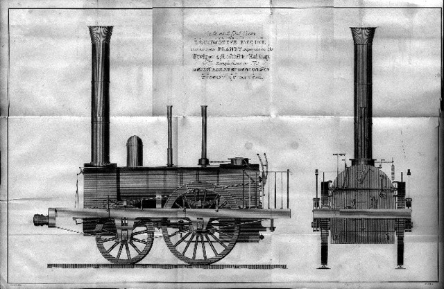 Steam engine believed to be under the street