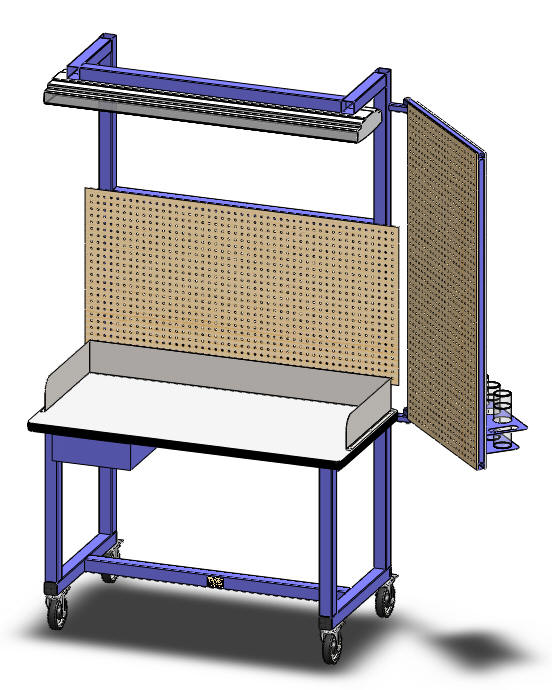 LTW Ergonomic Solutions LTW Inc Height Adjustable Industrial Tables