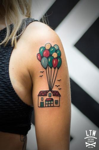globo  LTW Tattoo  Piercing Barcelona