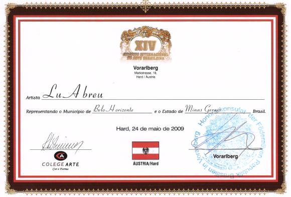 Arte XIV Circuito Internacional de Brasil - Austria