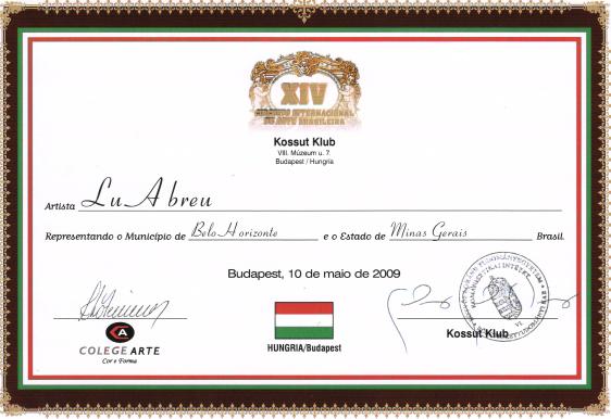 XIV Circuito Internacional de Arte Brasileira - Hungria/Budapest