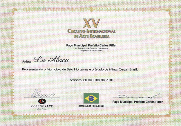 XV Circuito Internacional de Arte Brasileño - San Pablo
