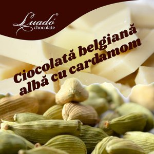 Înghețată artazinală de ciocolată albă și cardamom