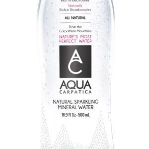 Aqua Carpatica – apă carbogazoasă, 500 ml