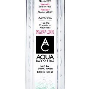Aqua Carpatica – apă minerală plată, 500 ml