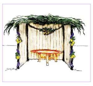 Szukkot, a sátoros ünnep