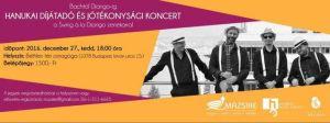 Mazsike hanukai díjátadó és jótékonysági koncert
