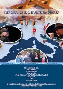 Az Európai Zsidó Kultúra Napja a régi pesti zsidónegyed kapujában