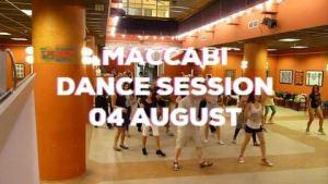 Maccabi Dance Session 04 August