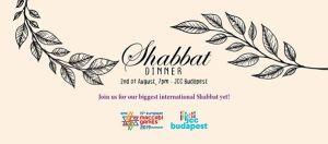 International Maccabi Sábbát dinner – Sabati vacsora