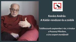 Kovács András: A Kádár rendszer és a zsidók