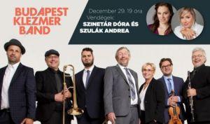 Budapest Klezmer Band koncert – Vendég: Szinetár Dóra és Szulák Andrea