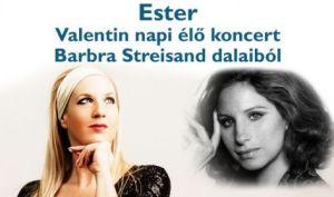 Ester – élő koncert Barbra Streisand