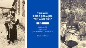 Trianon zsidó szemmel – Virtuális séta