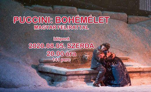 Puccini: Bohémélet – Met Opera (magyar felirattal)
