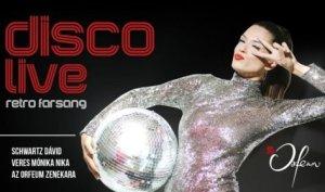Disco Live – Veres Mónika Nika és Schwartz Dávid koncertje