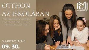 Online nyílt nap a Maimonidész Gimnáziumban