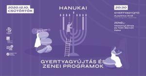 Hanuka – Vázsonyi & Tóth Bernát – Gyertyagyújtás és Koncert