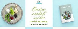 Online családi széder Fricivel és Ubullal