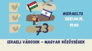Izraeli városok – magyar közösségek