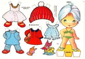bonecas de papel 11 300x208 - Brincando com bonecas de papel